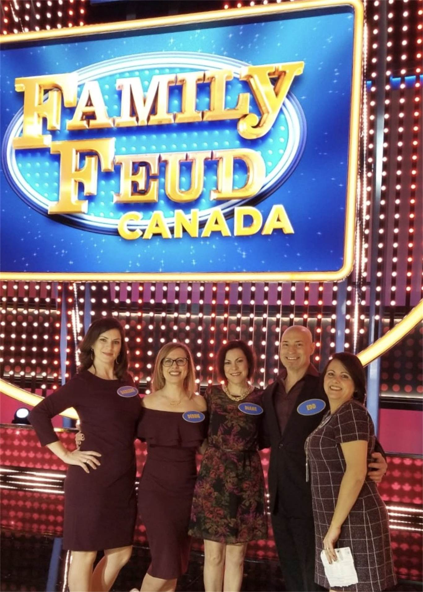 Survey says, HWCDSB staff wins $20,000 on Family Feud Canada